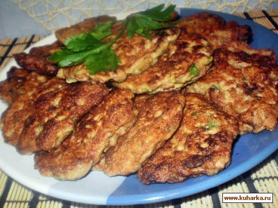 оладушки печенью куриной рецепт фото