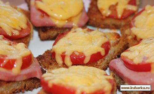 Рецепт Потапцы с помидорами и вареной колбасой