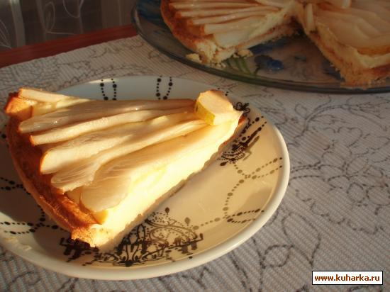 Рецепт Лимонно-грушевый тарт