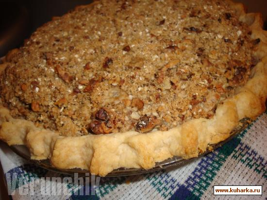 Рецепт Old World Apple Crumb Pie (Яблочный пирог)