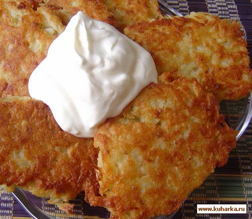 Рецепт Картофельный латкес