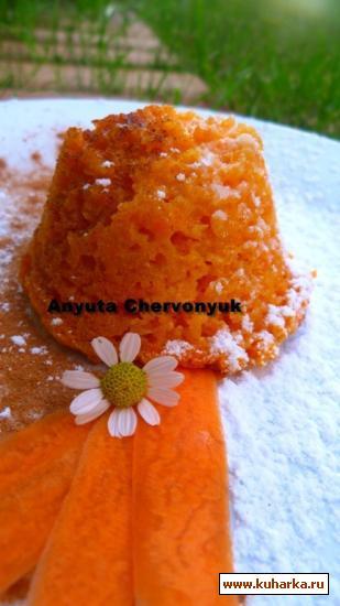 Рецепт Морковный пудинг (Pudin de zanahoria)