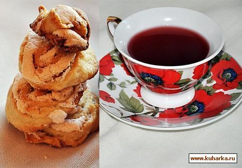 Рецепт Травяной чай с вишней и имбирем