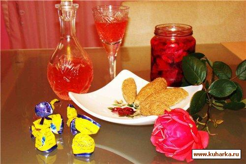 Рецепт Говут с розовым шербетом