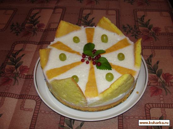 Рецепт Торт-суфле «Корона»