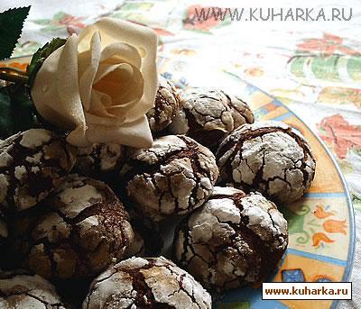 """Рецепт Шоколадное печенье """"Трюфель"""""""
