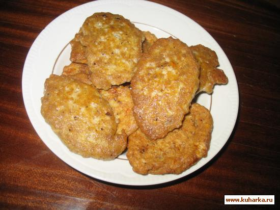 Рецепт Оладьи из капусты с мясом