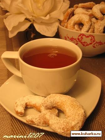 Рецепт Прабабушкины ванильные полумесяцы (Uromas Vanillekipferl)
