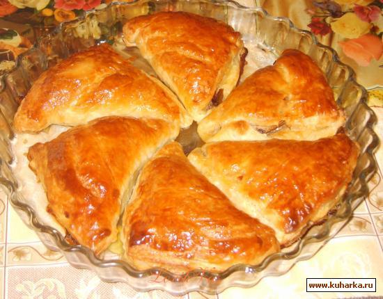 Рецепт Бутерброды со шпротами по-новому (слойки)