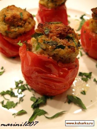 Рецепт Апульские фаршированные помидоры