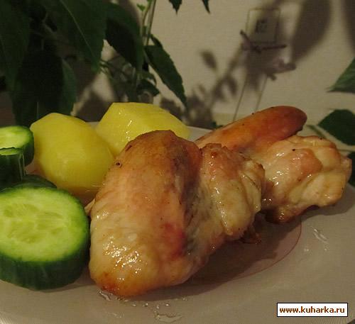 Рецепт Куриные крылышки в маринаде