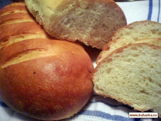 "Рецепт Сырный хлеб""Нежный"""