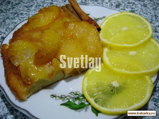Рецепт Запеканка с яблоками и персиками.