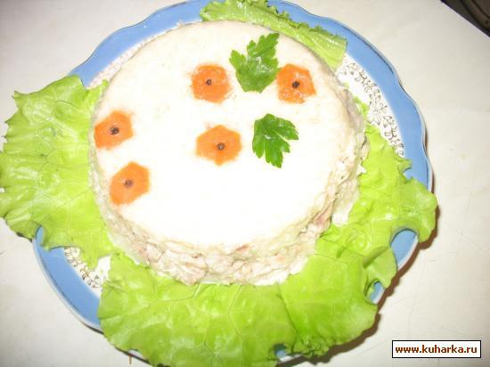 Рецепт Заливное из телятины в майонезе с хреном