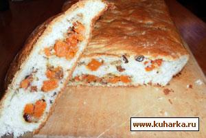 Рецепт Пирог с тыквой и орехами
