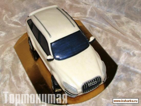 Торт машина ауди фото