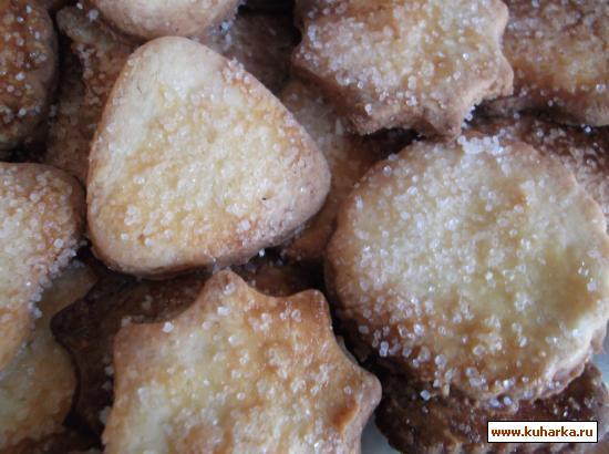 Рецепт Домашнее песочное печенье