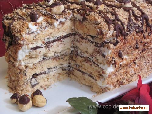 Торт с безе рецепт в домашних условиях