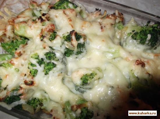Рецепт Брокколи, запеченная с сыром