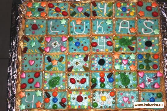 Рецепт Торт в детский садик