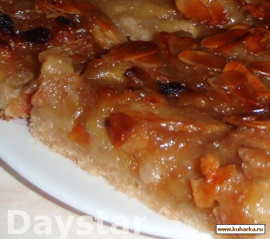 Рецепт Apfel-Blechkuchen / Яблочный пирог с противня