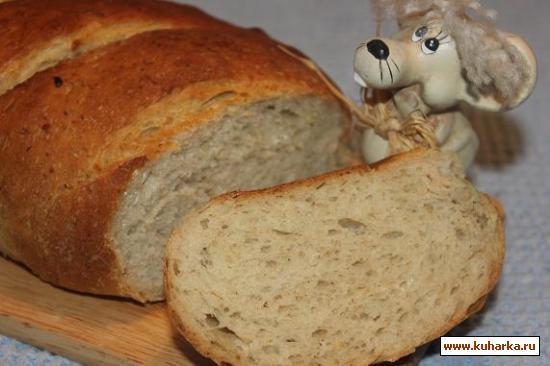 Рецепт Овсяный хлеб с медом