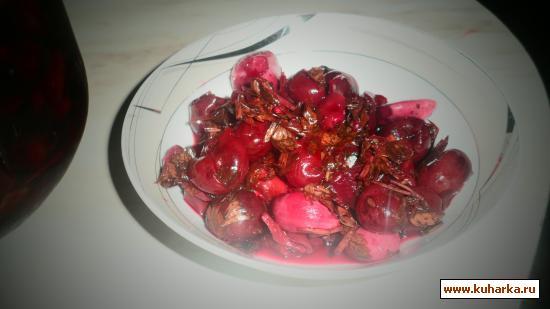 Рецепт Вишня кисло-сладкая в маринаде