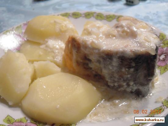 Рецепт Рыба в сметанном соусе