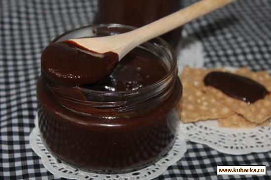 Рецепт Бананово-шоколадная крем-паста