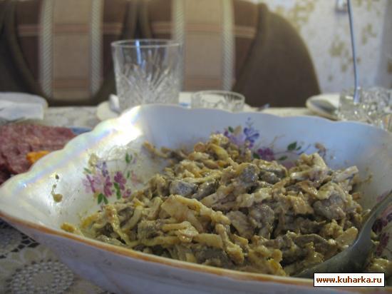 "Рецепт Салат ""Почтальон Печкин"""