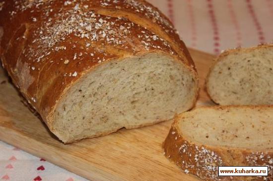 Рецепт Хлеб с отрубями на сыворотке