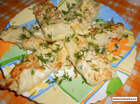 Рецепт Капустные рулетики с сыром