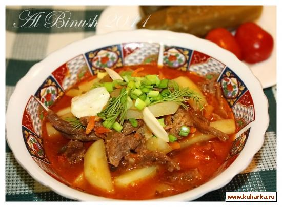 Рецепт Азу по-татарски
