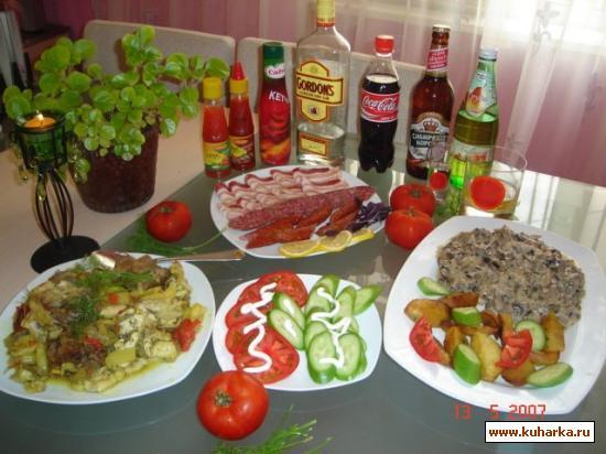 Рецепт Аджабсандал (национальное блюдо)