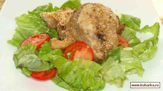 Рецепт Рыба под пряным соусом