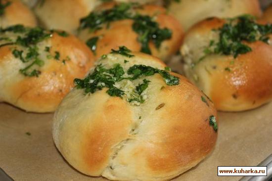 Рецепт Картофельные булочки с зеленым луком