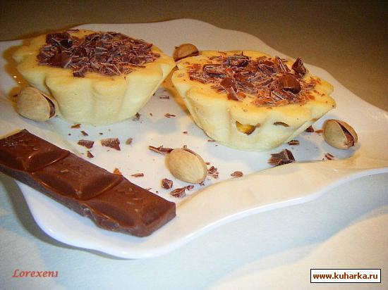 Рецепт Нежный десерт с Белым Шоколадом и ликёром Бейлиз