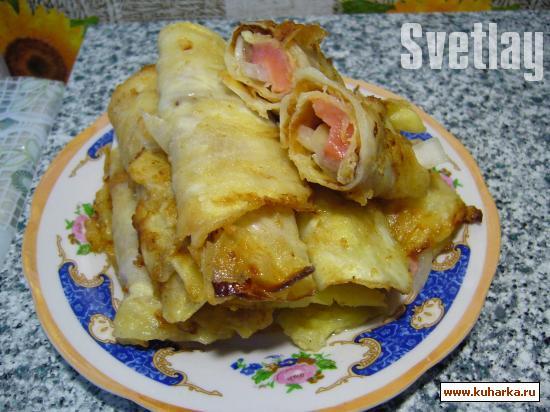 Рецепт Капустные отбивные с лососем.
