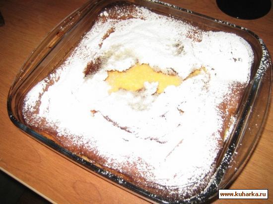 Рецепт Бретонский яичный пудинг