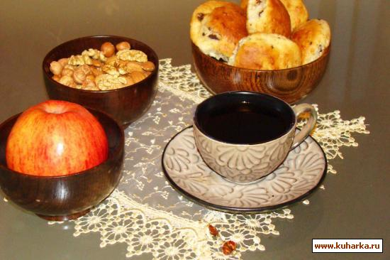 Рецепт Творожно-кокосовые маффины