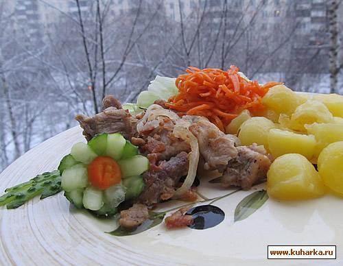 Рецепт Свинина с беконом