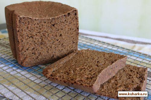 Рецепт Хлеб Бородинский заварной в хлебопечке