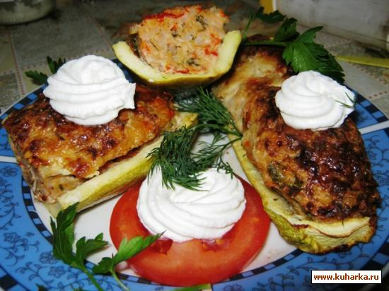 Рецепт Кабачки - чтоб добро не пропадало
