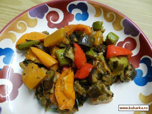 Рецепт Запечённые овощи с тмином
