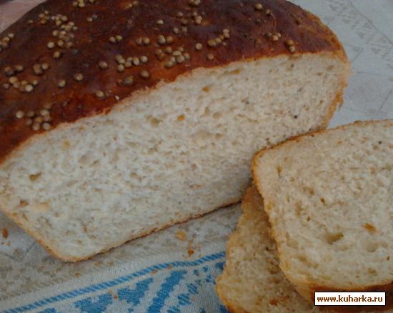 Рецепт Медово-горчичный хлеб с луком