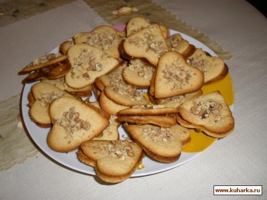 Рецепт Греческое медовое печенье
