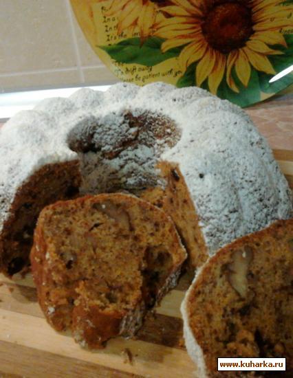 Рецепт Морковно-банановый кекс