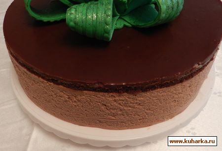 Шоколадный мусс с желатином для торта рецепт