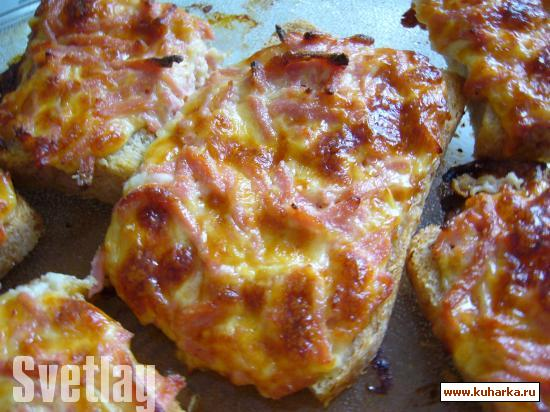 Рецепт Бутерброды суперовские