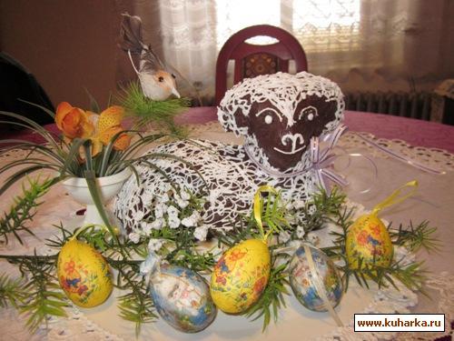 Рецепт Пасхальный барашек.
